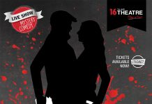 Poster for the perfect murder play