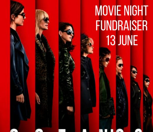 Promotional movie poster for the film oceans 8