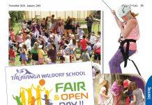 poster for Waldorf school fair