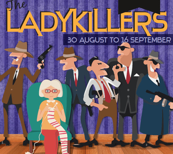 The Ladykillers at 16th Avenue Theatre – ARCHIVE ONLY