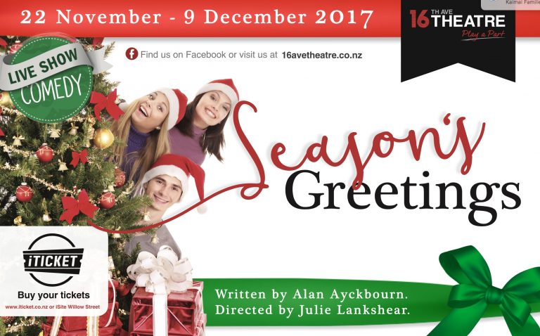 Season's Greetings by Alan Ayckbourn – ARCHIVE ONLY