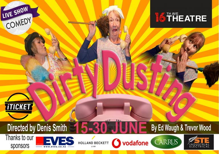 Dirty Dusting – 15 to 30 June 2018 (Comedy) – ARCHIVE ONLY
