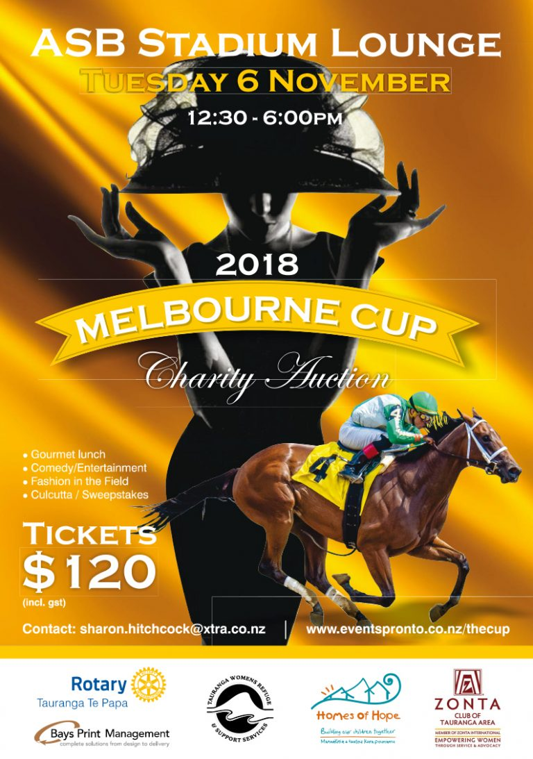 Melbourne Cup Charity Auction – Tuesday, 6 November 2018