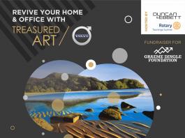 Poster for Treasured Art Auction 2018
