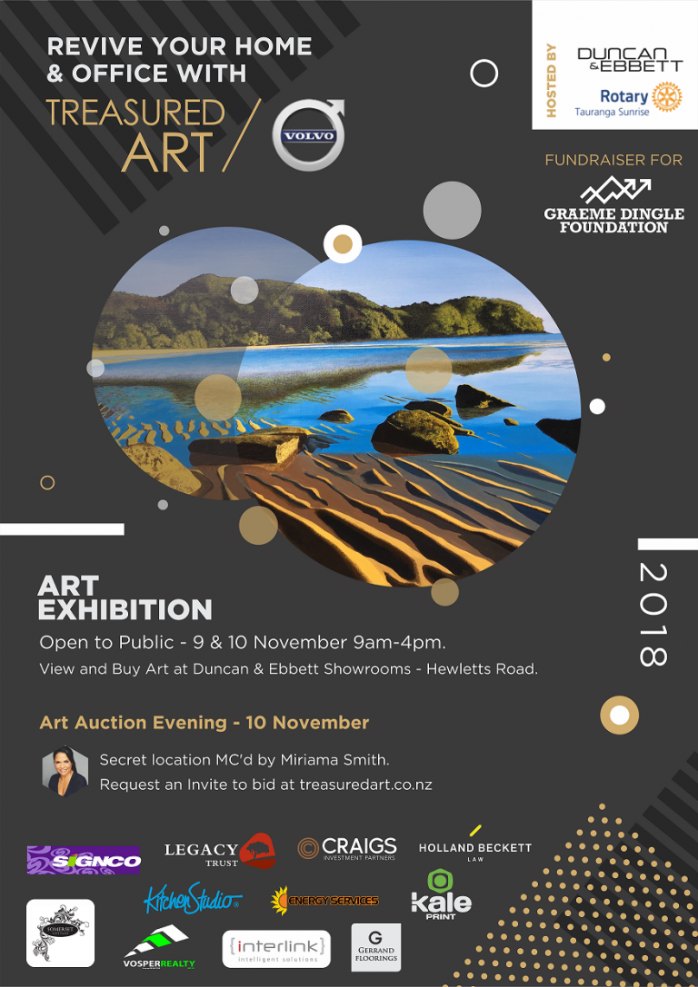Treasured Art Auction 2018 – Saturday 10 November – (Archive only)