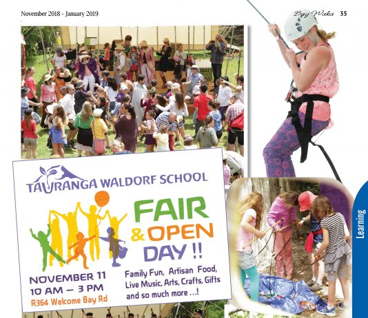 poster for Waldorf school fair