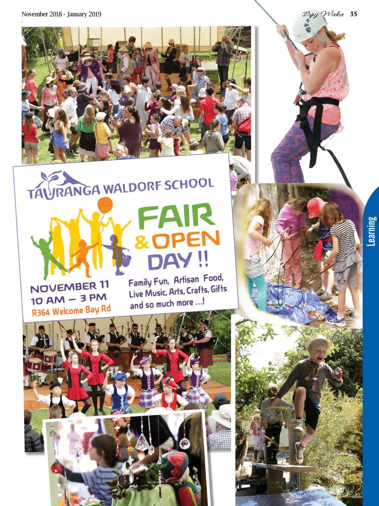Waldorf School Fair! – Sunday 11 November