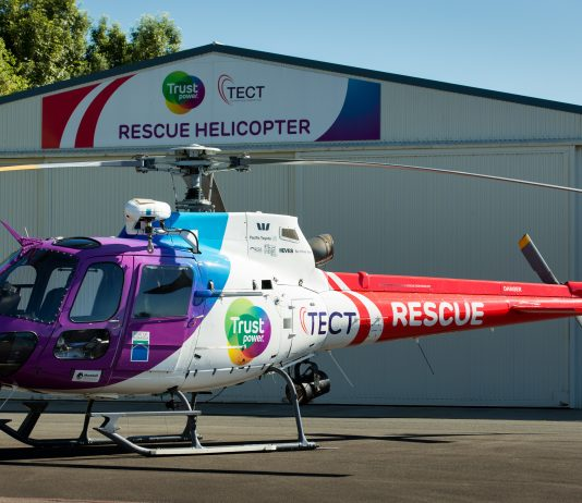 Trustpower Rescue Helicopter