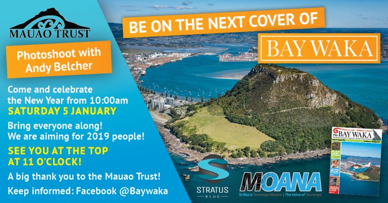 Top of Mauao aerial photo shoot this Saturday!