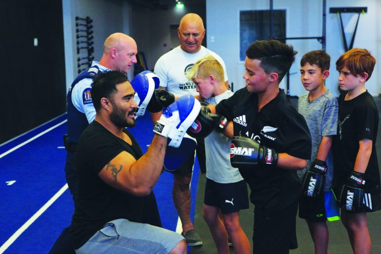Tauranga Boxing Academy – The End Game is to Get Them into Work