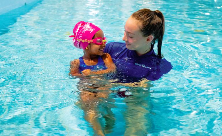 Anisha's BaySwim Experience