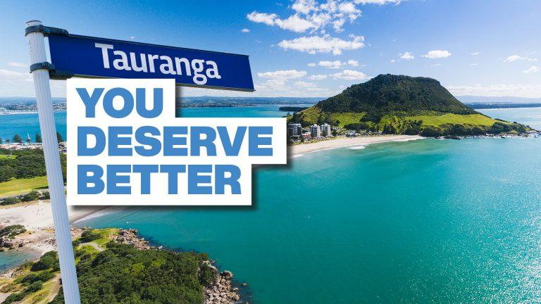 Better Services. Better Governance. BETTER TAURANGA