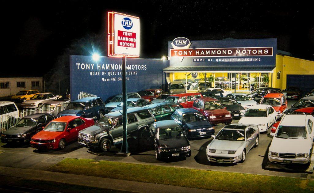 tony hammond motors yard