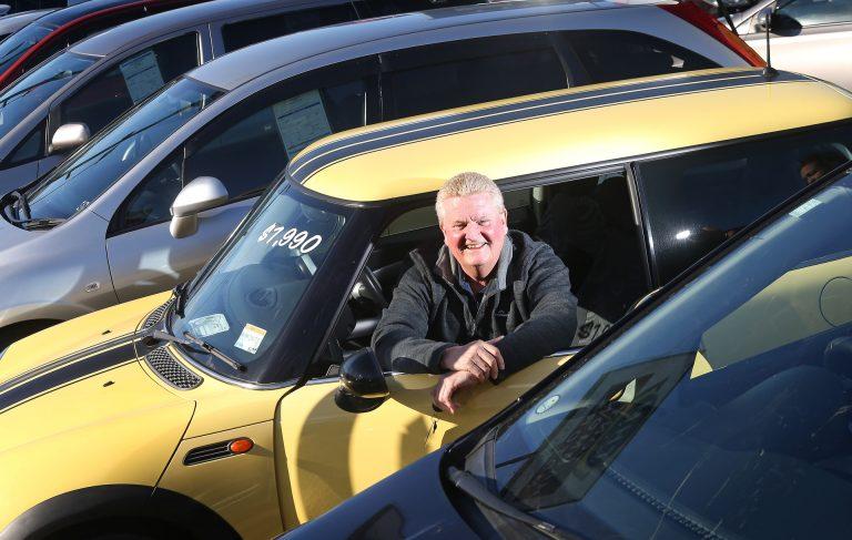 Tony Hammond Motors' New Yard